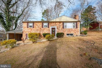 Upper Marlboro Single Family Home For Sale: 11610 Tyre Street