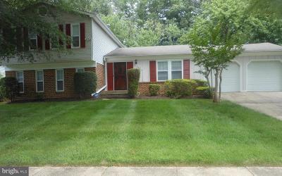 Fort Washington Single Family Home For Sale: 8921 Bluffwood Lane