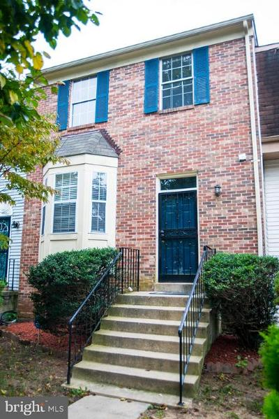 Upper Marlboro Townhouse For Sale: 186 Joyceton Terrace