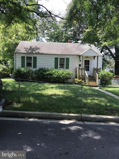 Capitol Heights Single Family Home Under Contract: 14 Whist Place