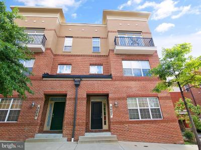 College Park, Greenbelt Townhouse For Sale: 9607 Milestone Way