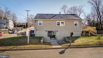Capitol Heights Single Family Home For Sale: 1200 Clovis Avenue