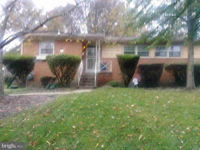 Hyattsville MD Single Family Home Active Under Contract: $180,000