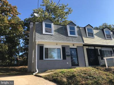 Landover Townhouse For Sale: 7624 Allendale Circle