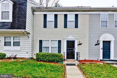 Capitol Heights Townhouse For Sale: 5605 Malvern Way