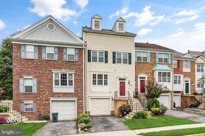 College Park, Greenbelt Townhouse For Sale: 7827 Vanity Fair Drive