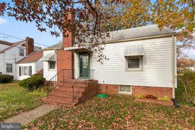 District Heights Single Family Home Active Under Contract: 6112 Cabot Street