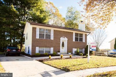 Upper Marlboro Single Family Home For Sale: 17110 Brookmeadow Lane