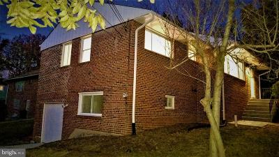 Oxon Hill Single Family Home For Sale: 9 Tecumseh Drive