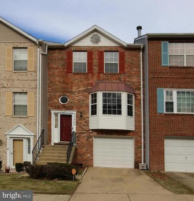 Upper Marlboro Townhouse For Sale: 12469 Old Colony Drive