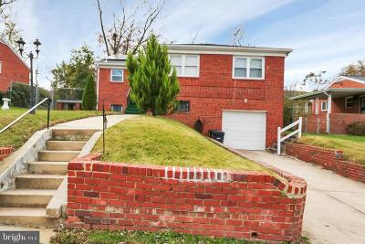 Temple Hills Single Family Home For Sale: 3419 23rd Parkway