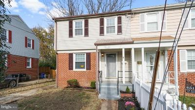 Temple Hills Single Family Home For Sale: 4517 Akron Street