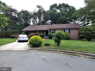 Brandywine Single Family Home For Sale: 9611 Converse Court