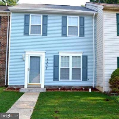 Townhouse For Sale: 7337 Shady Glen Terrace