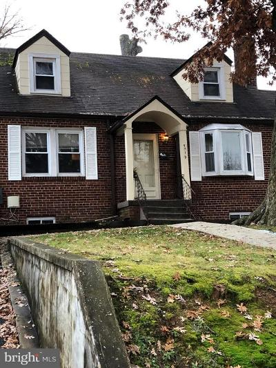 Hyattsville Single Family Home For Sale: 5019 56th Avenue
