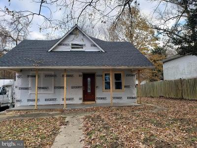 Capitol Heights Single Family Home For Sale: 1104 Capitol Heights Boulevard