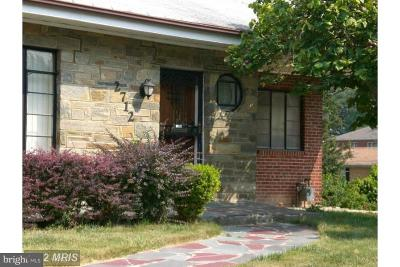 Temple Hills Single Family Home For Sale: 2712 Fairlawn Street