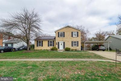 Oxon Hill Single Family Home For Sale: 4808 Wheeler Road