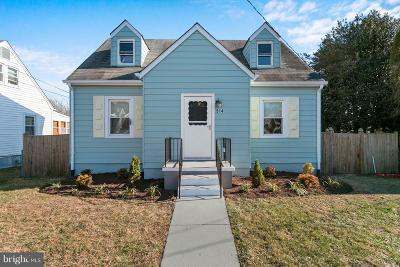 Laurel Single Family Home For Sale: 914 Nichols Drive