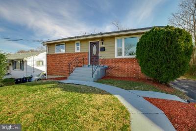 Forestville Single Family Home For Sale: 2308 Wintergreen Avenue
