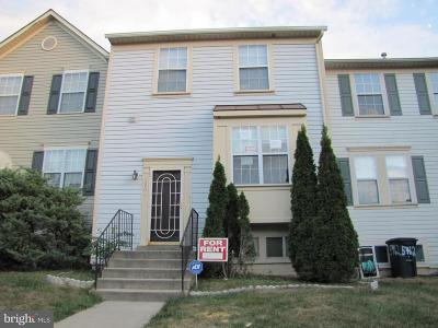 District Heights Rental For Rent: 5960 S Hil Mar Circle