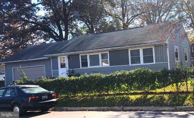 Single Family Home For Sale: 5001 Kenesaw Street