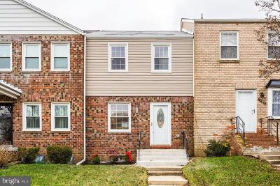 Upper Marlboro Condo For Sale: 12307 Chesterton Drive #90