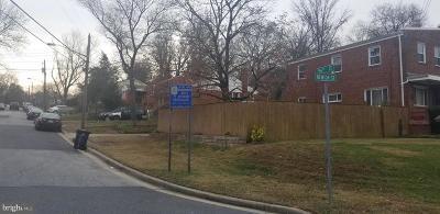 Hyattsville Single Family Home For Sale: 3535 56th Street