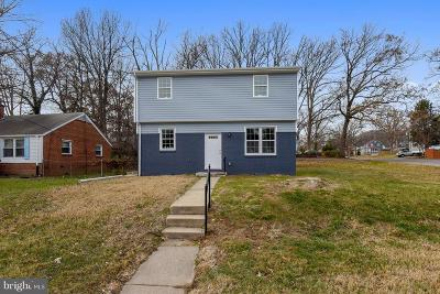 Hyattsville Single Family Home For Sale: 4018 73rd Avenue
