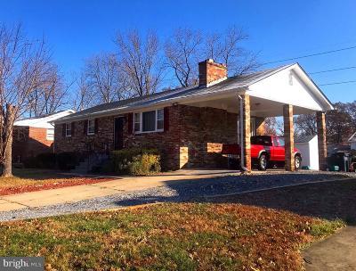 Fort Washington Single Family Home For Sale: 9600 Rosevale Street