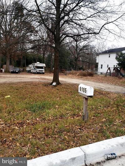 Lanham Residential Lots & Land For Sale: 6105 Princess Garden Parkway