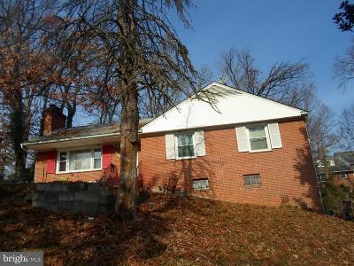 Lanham Single Family Home For Sale: 7306 Riverdale Road