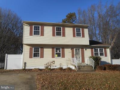 Upper Marlboro Single Family Home Under Contract: 11110 Cranford Drive