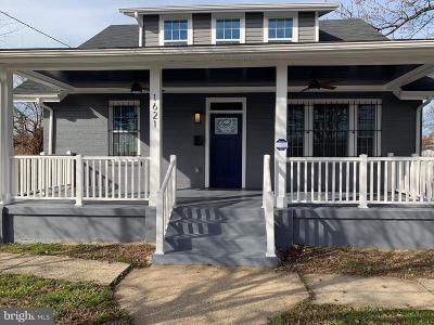 Capitol Heights Single Family Home For Sale: 1621 Nova Avenue