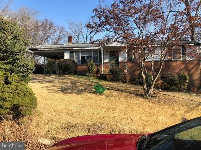 Upper Marlboro Single Family Home For Auction: 3114 Pyles Drive