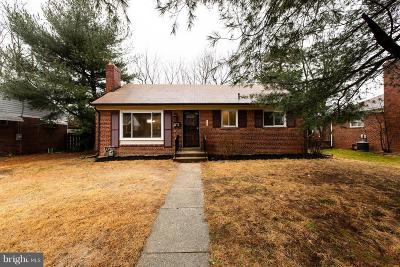 District Heights Single Family Home For Sale: 6904 Lansdale Street