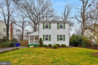 College Park Single Family Home Active Under Contract: 9523 49th Avenue