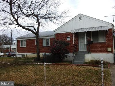 Hyattsville Single Family Home For Sale: 7925 24th Avenue