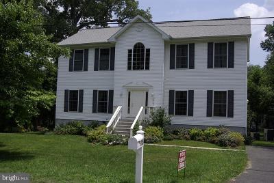 Glenn Dale Single Family Home For Sale: 6705 Glen Avenue