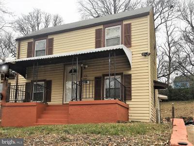 Landover Single Family Home For Sale: 7106 Hawthorne Street