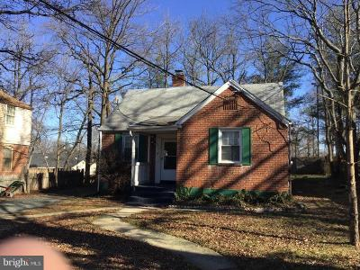 Capitol Heights Single Family Home For Sale: 507 71st Street