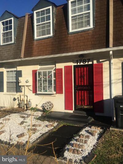 Hyattsville Condo For Sale: 1787 Village Green Drive #Y-91