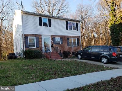 Hyattsville Single Family Home Active Under Contract: 7403 Hendricks Drive