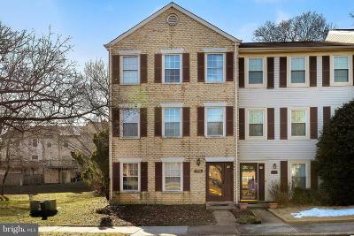 Lanham Townhouse For Sale: 6916 Storch Circle