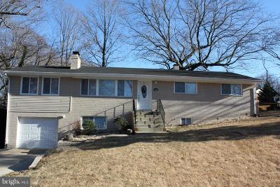 Temple Hills Single Family Home For Sale: 6000 Colonial Terrace