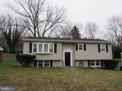 Clinton MD Single Family Home For Sale: $327,500