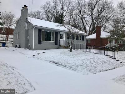 District Heights Single Family Home For Sale: 6909 Kipling Parkway