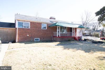 Hyattsville Single Family Home For Sale: 2201 Beechwood Road