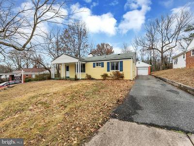 Hyattsville Single Family Home For Sale: 3408 Rutgers Street