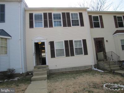 Suitland Townhouse For Sale: 5761 Suitland Road